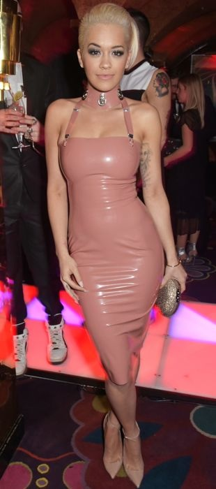 Rita Ora attends the the Mert & Marcus House of Love Party for Madonna in London