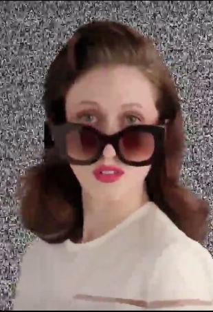 Anna Cleveland Fendi Sunglasses
