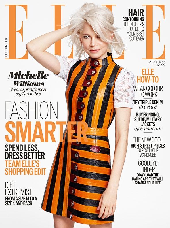UK Elle April 2015 Michelle Williams