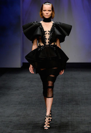 Betty Tran Spring 2015 Runway