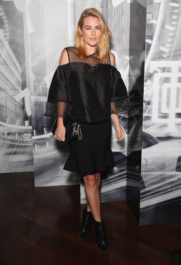 Carissa Walford at Tiffany & Co. Watch Launch in Sydney