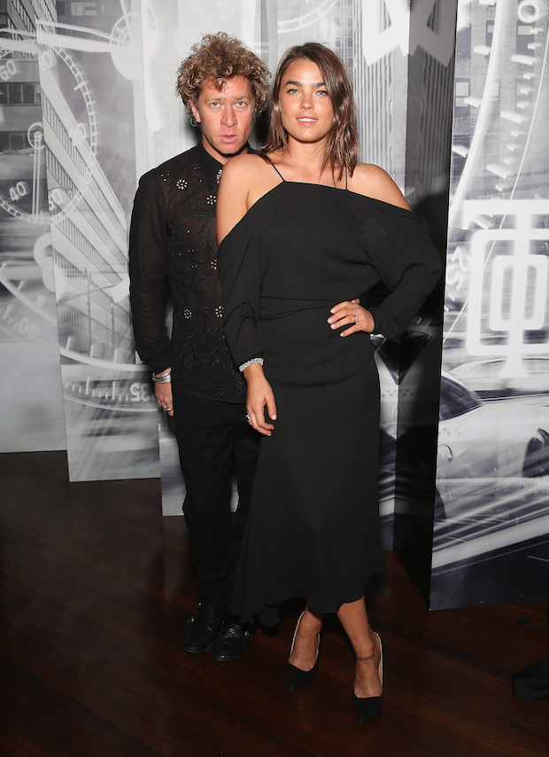 Bambi Northwood-Blyth and Dan Single at Tiffany & Co. Watch Launch in Sydney