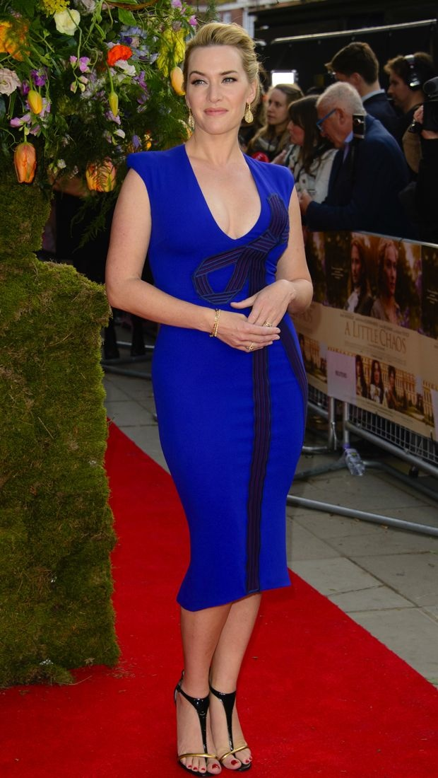 Kate Winslet attends the premiere of