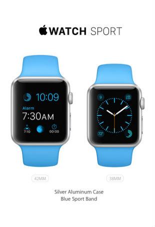 Apple Watch Sport Scratch