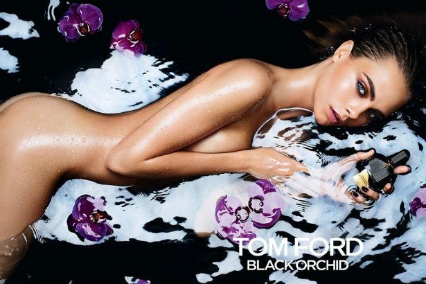 Tom Ford Black Orchid Cara Delevingne ad