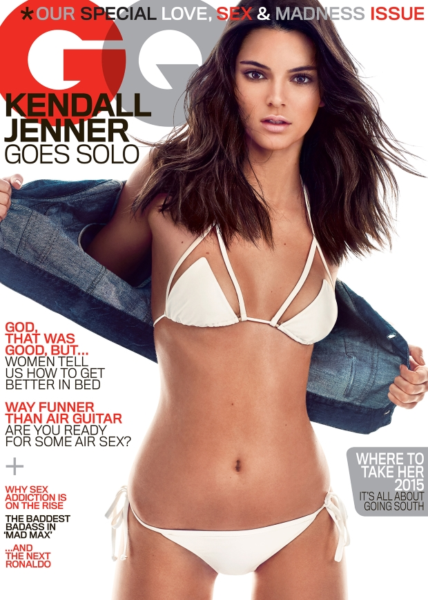 US GQ May 2015 Kendall Jenner Steven Klein