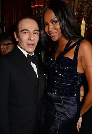 John Galliano Naomi Campbell