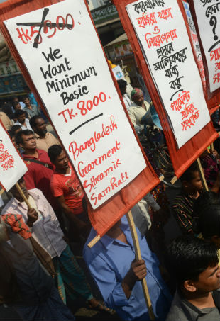 Rana Plaza demonstration