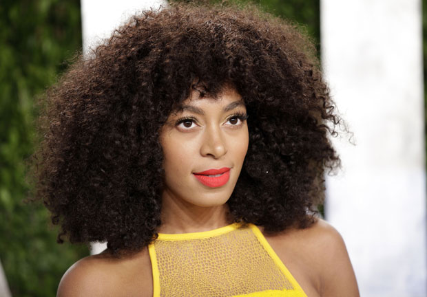 Solange Knowles radiant with her glorious natural mane. Ivan Nikolov/Wenn
