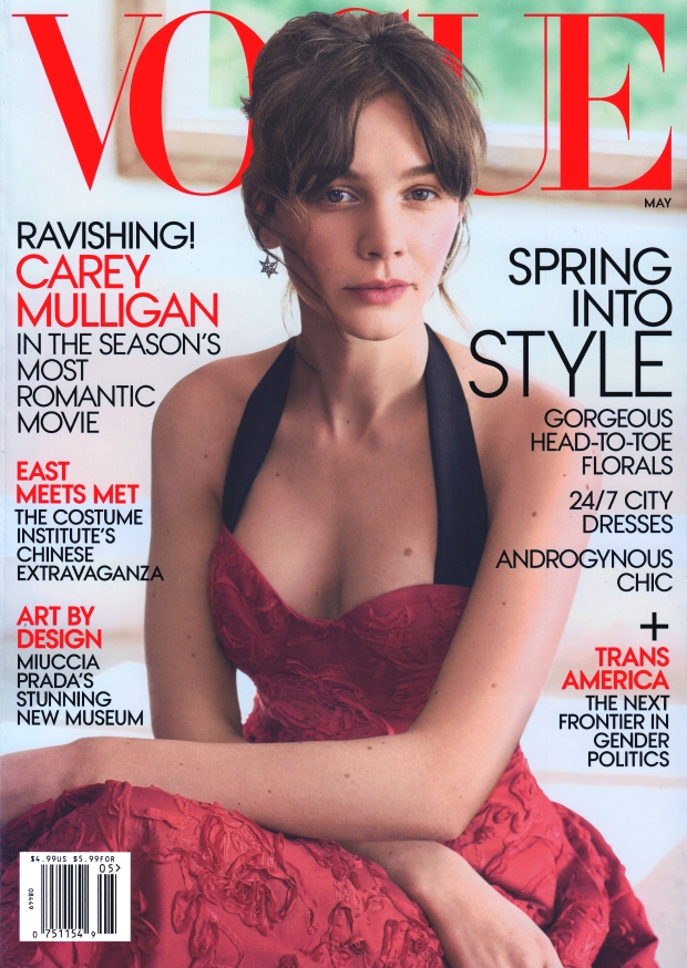 US Vogue May 2015 Carey Mulligan Mikael Jansson