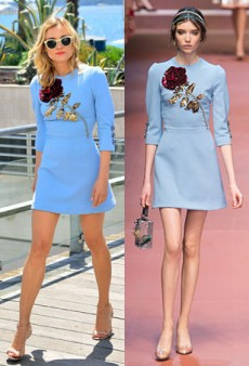 Runway to Real Life: Liya Kebede in Louis Vuitton, Diane Kruger in Dolce & Gabbana and More (Forum Buzz)