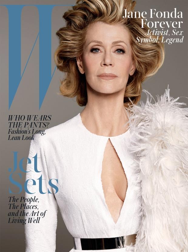 W Magazine June/July 2015 Jane Fonda by Steven Meisel