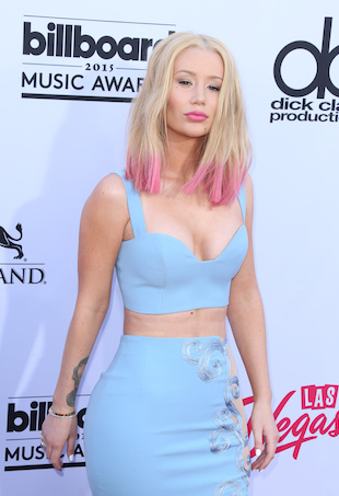 Iggy Azalea attends the Billboard Music Awards