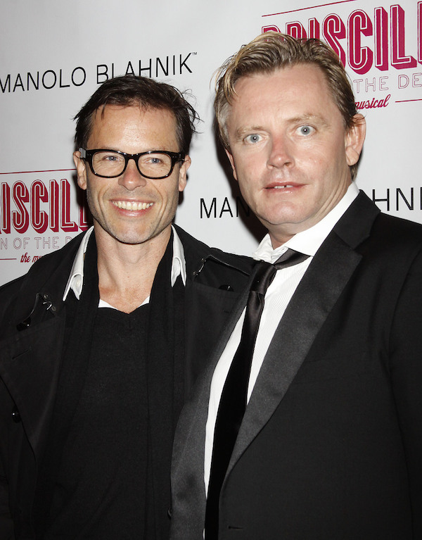 Guy Pearce and director Stephan Elliot