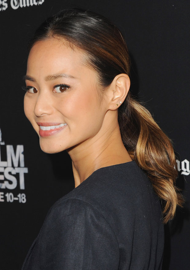 Get The Look Jamie Chung S Low Key Beauty Look