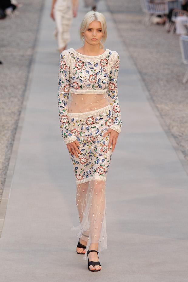Abbey Lee walks Chanel