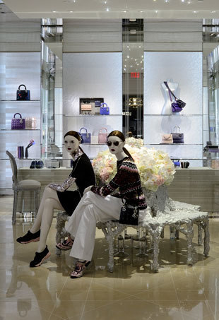 Christian-Dior-store-in-Vancouver-at-the-Fairmont-Vancouver-Bag-Room