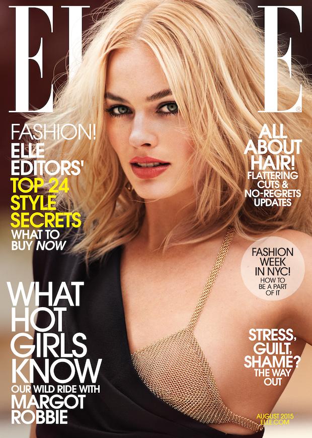 Margot Robbie ELLE cover