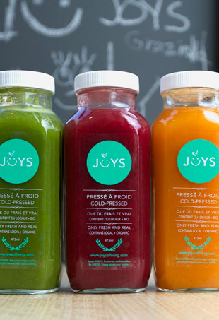 Joys of LIving Juice Bar Montreal