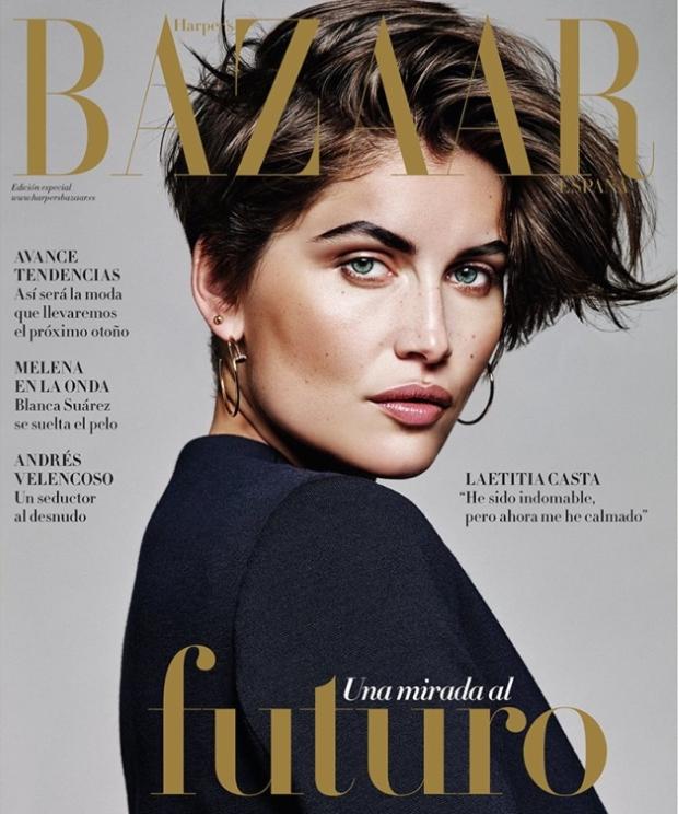 Harper's Bazaar Spain August 2015 Laetitia Casta by Alique