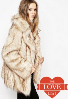 Faux-Fur Coats: The Love List