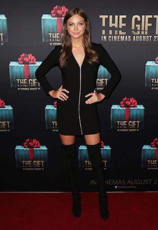 Ksenija Lukich The Gift Premiere