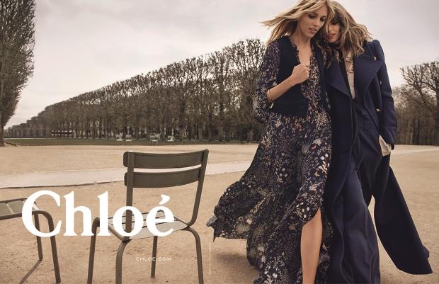 Chloé Fall 2015 Ad Campaign by Inez & Vinoodh