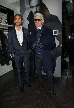 Karl Lagerfeld Sebastien Jondeau