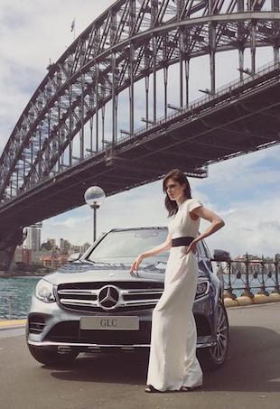 Coco Rocha in Sydney