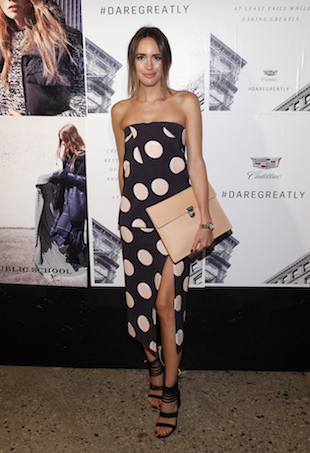 Louise Roe wears Manning Cartell