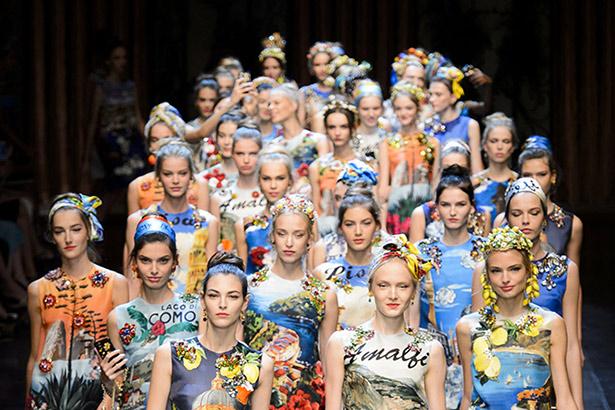 Dolce & Gabbana Spring 2016 runway