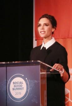 Victoria Beckham Spoke at the UN Social Good Summit