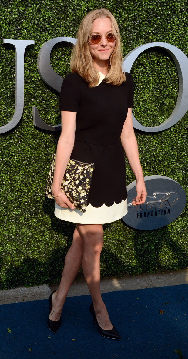 Amanda Seyfried 15th Annual USTA Opening Night Gala - Red Carpet Arrivals