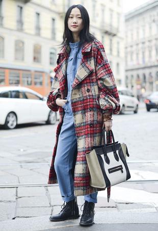 Fashion Trend Fall 2015 : Plaid