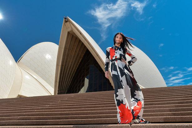 Conchita Wurst at Sydney Opera House