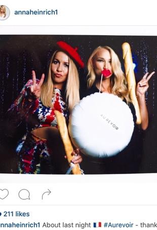 Anna Heinrich posts to Instagram