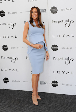 Kyly Clarke maternity style