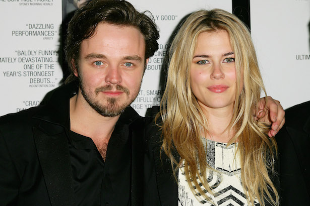 Rachael Taylor and Matthew Newton