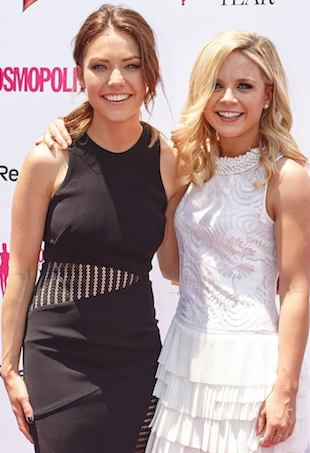 Sam Frost and Emma Freedman