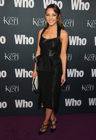 Sam Frost at WHO Magazine's party