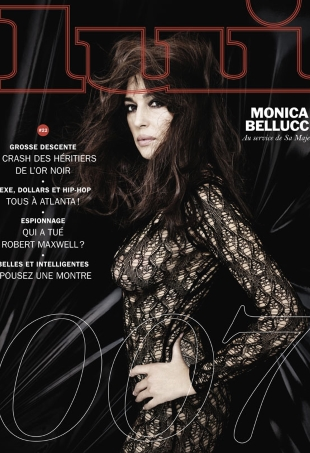 Lui November 2015 : Monica Belucci by Rankin