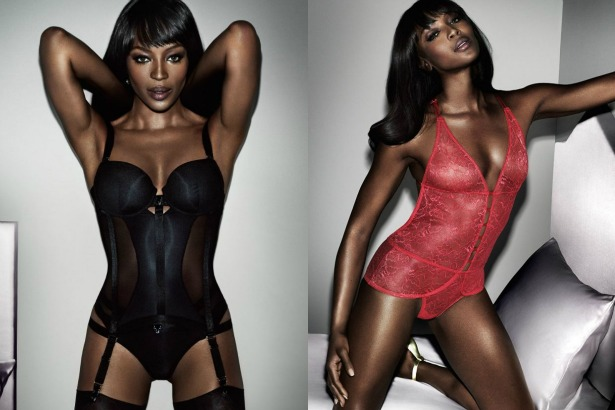 Naomi Campbell Lingerie Yamamay