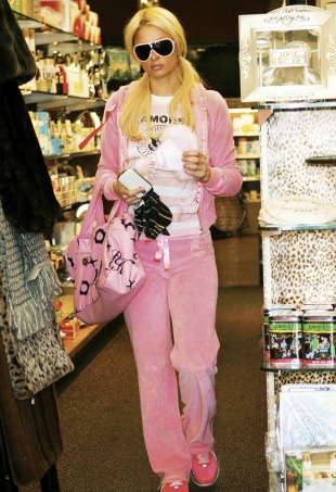 Juicy Couture Tracksuit V&A Museum