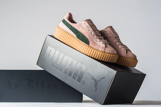 fabb41e9db1b Only a Few Sizes of Rihanna s Puma Creepers Are Left - theFashionSpot