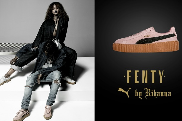 sports shoes 76e14 027c3 Only a Few Sizes of Rihanna's Puma Creepers Are Left ...