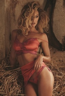 Bar Refaeli Hits the Hay for Agent Provocateur's Spring 2016 Collection