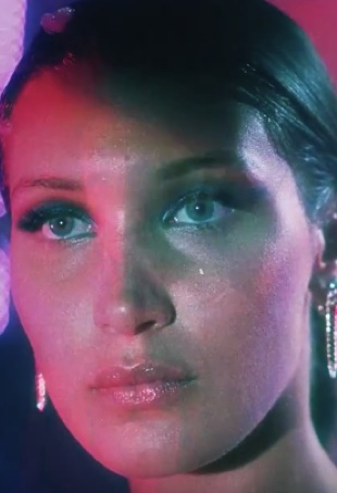 Bella Hadid in The Weeknd's In The Night music video