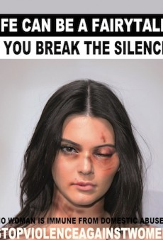 Contemporary Artist Photoshops Celebs for New Domestic Violence Campaign