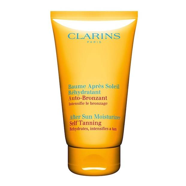 Clarins after sun moisturiser