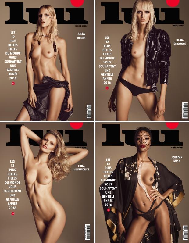 Super models nude